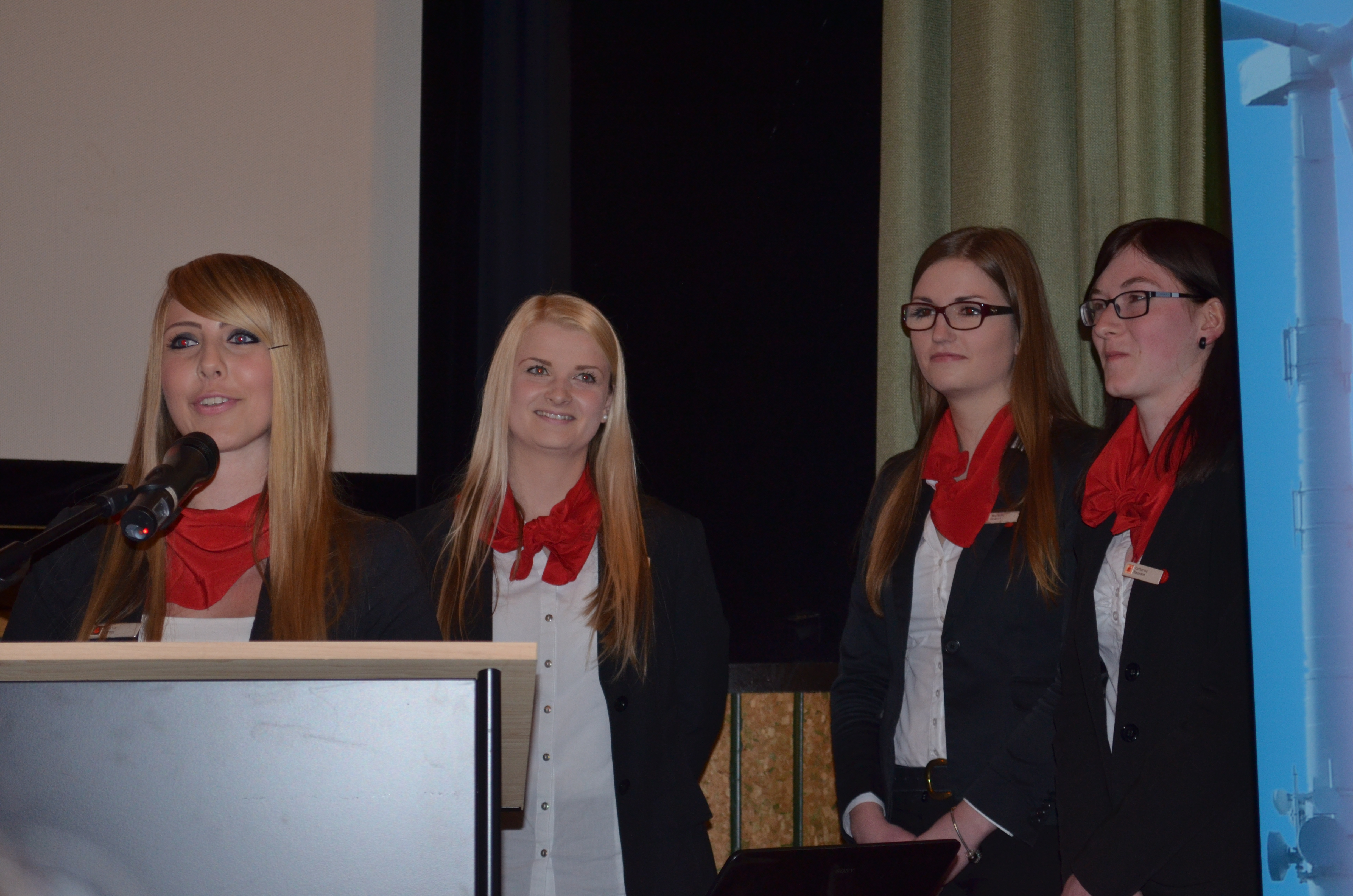 Kristin Herbst, Theresia Herborn, Jennifer Natalie Steinbacher, Katharina Baumann