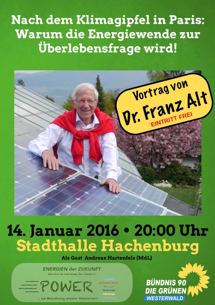 Plakat Franz Alt +